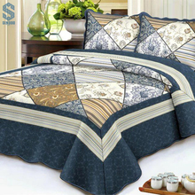Hot sale factory direct price quilted bedspreads