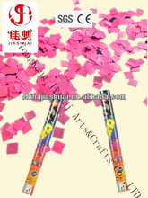 metallic confetti party popper/personalized confetti/party confetti shooter