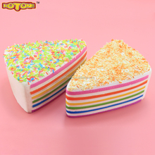 Manufacturers selling PU fake fidget food cake all varieties simulation bread PU horn props decoration