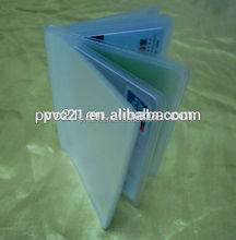 Plastic Credit Card Sleeves Pvc Card Cover