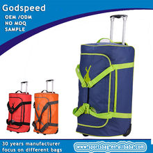 best hard case golf travel bag,luggage with shoe compartment,pvc trolley bag