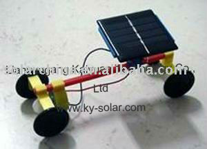 Hot selling solar powered model car toy for kids education