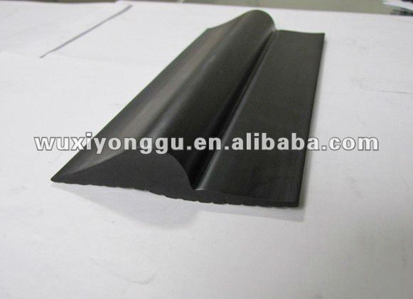Garage door rubber seal