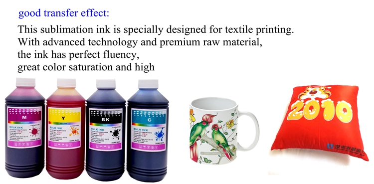 Korea Top quality Sublimation ink for Heat transfer cotton T-shirt
