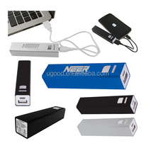UL battery!!! MSDS power bank 2600mah external portable phone charge station