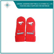 Cheap Cute Animal Logo Knitted Mittens