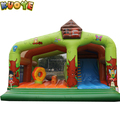 2017 commercial 6 x 6 inflatable large castle slide