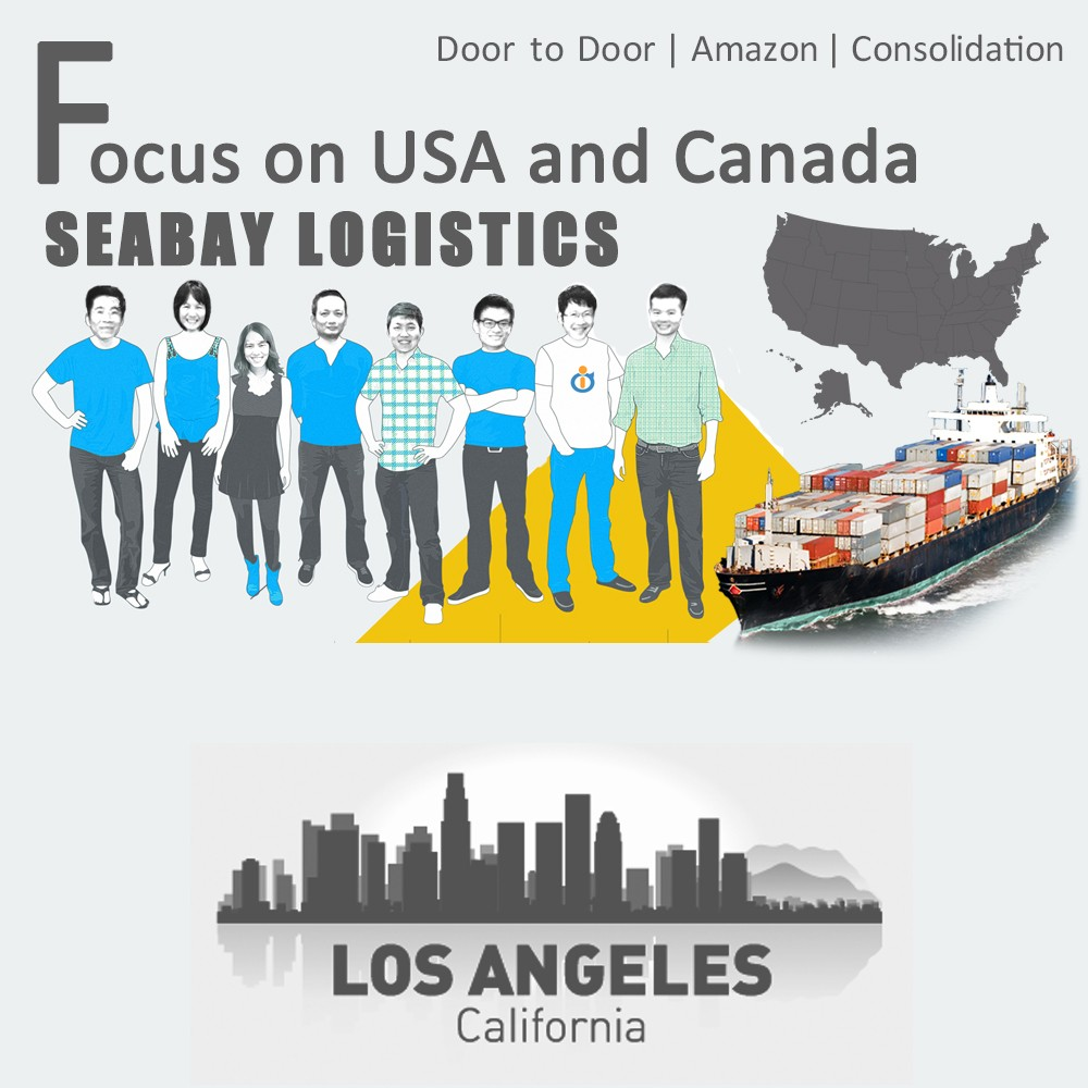 Brilliant sea freight forwarder service from china to los angeles