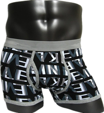 Printing design boxer briefs factory cheap bulk hot pants underwear men