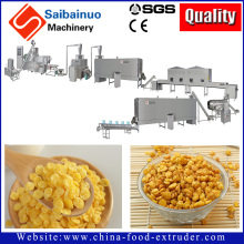 China manufacturer Fully Automatic Corn Flakes /Breakfast Cereals Processing Line with high quality