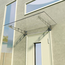 glass canopy kit,stainless steel glass canopy hardware