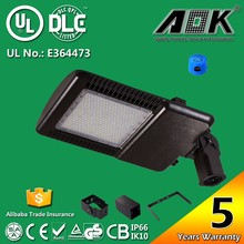 AOK-180WiT UL cUL DLC Approval 5 Years Warranty Outdoor Park Lighting With Philips Chip