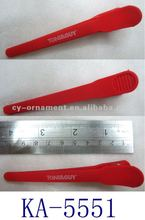 Fashion Red Duck Bill Clips New Designs 2012