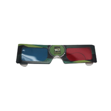 Eco-Friendly Oem Printing 3D Red Blue Film Paper 3D Glasses