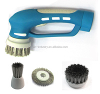 OEM high quality fashion Handheld Cordless rechargeable Electric Power Scrubber with LiPo battery