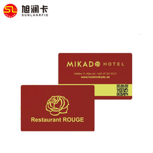 Proximity passive rfid smart cards PVC Rfid hotel key card low frequency TK4100 rfid card