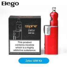 2017 Newest Aspire Zelos 50W Kit/Mod with Nautilus 2 tank Wholesale Aspire Zelos