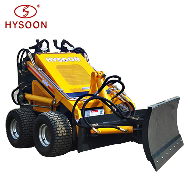 Mini skid steer road sweeper attachments for tractor