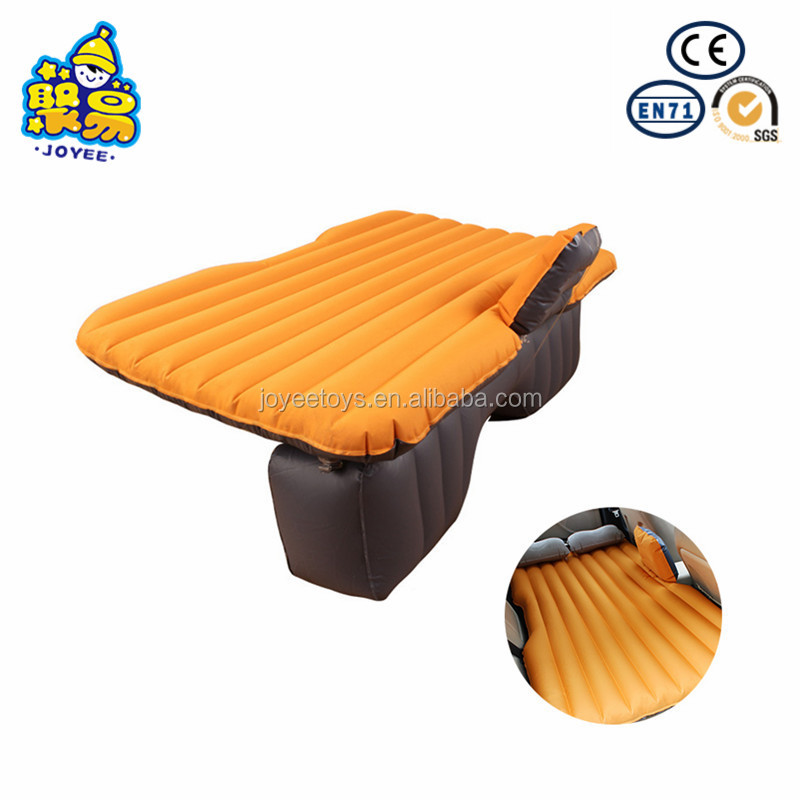 Customized logo car back seat air mattress inflatable bed in the car inflatable backseat car bed