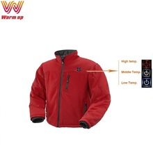 7.4V rechargeable battery urban winter jackets