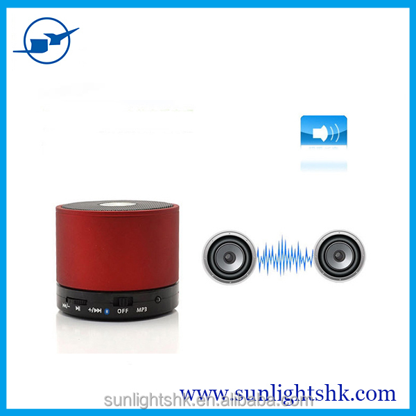 New S10 Portable Wireless mini speaker Bluetooth Speaker Subwoofer with Mic TF card music Mp3 player for MP3/ipad/iphone