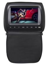 VCAN 1433 9' headrest DVD with FM/iR/USB/SD(MP5) /wireless game/ zipper cover
