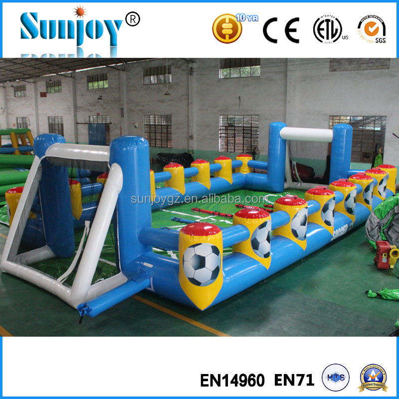 Commerical High Quality Inflatabe Soccer Field.Cheap Inflatable Football Court, Football Field