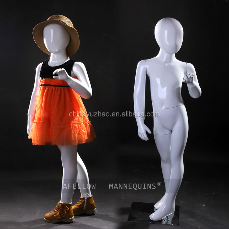 AFKE31 Kid hot sale 2015 China low price mannequin white glossy children mannequin