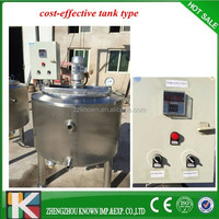 cost-effective tank type small tunnel milk pasteurizer