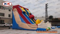 Warmly welcomed big inflatable slides , inflatable slide clown city entertainment town use