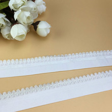 Custom high quality woven nylon ladies elastic band for underwear knitting elastic webbing