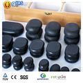 Factory OEM bamboo box package therapy hot stone massage set