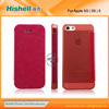 high end cell phone leather case for iphone 5s case