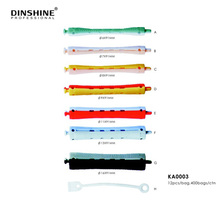 Dinshine Spiral Rubber Foam Hair Rollers For Hairdressing