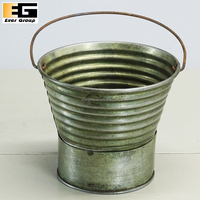 Embossed Tin Copper Pot