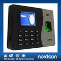Extremely easy management 2.8 inch TFT screen fingerprint time attendance system with usb TCP/IP