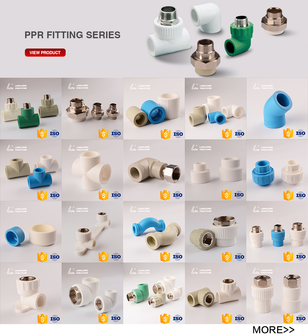 Germany standard ppr fitting drinking water filter
