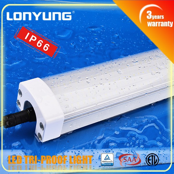 High quality!! IP65 Tri-proof LED Light 60w 220volt lamp tube 150cm 5ft 50w led dimmer 220v