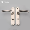 stainless steel door handle on plate lock SP116-SH270-B17