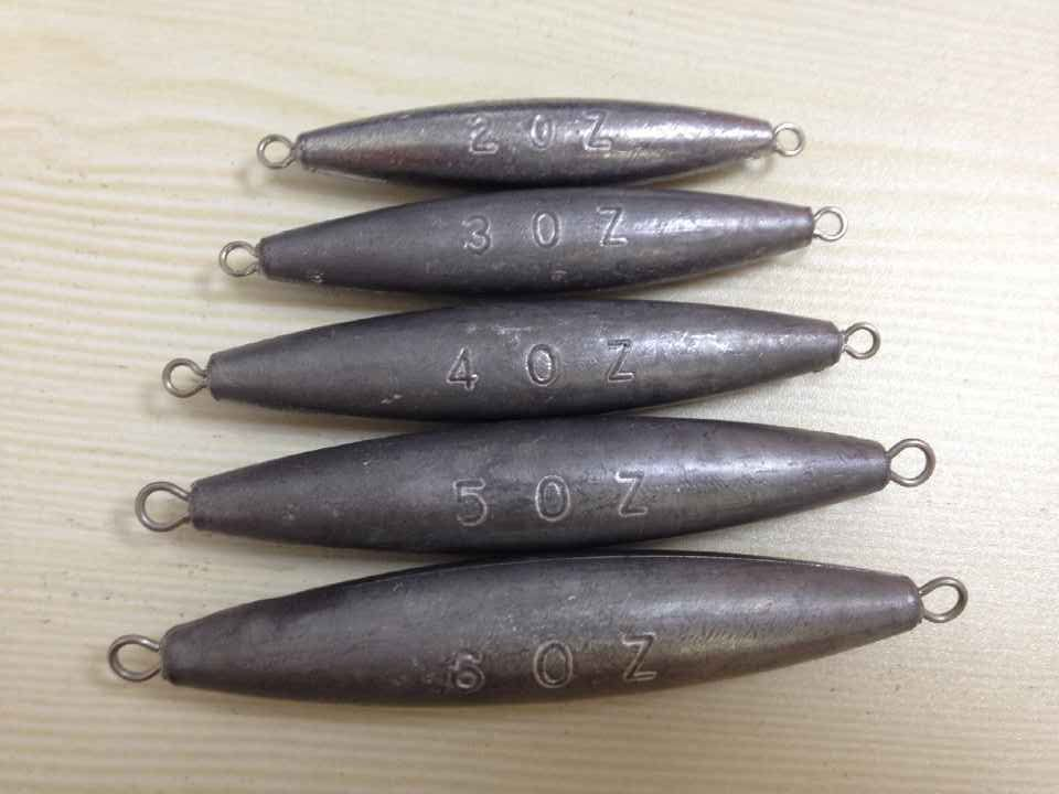 China factory wholesale high quality lead fishing weights for Fishing sinkers bulk