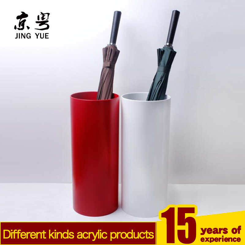 High-end acrylic materials umbrella holder,commercial umbrella rack/barrel