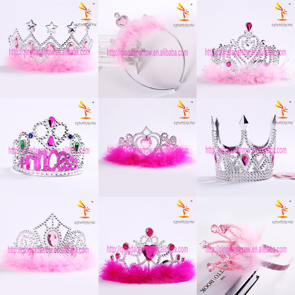 Hot Selling Wholesale Tiara Crown Fairy Wand Set for Kids