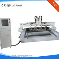 cabinet cnc router 4 axis for three-dimensional wood china wood acrylic stone cnc router for advertisement