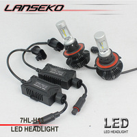 4000LM led car headlight h13 LUXEON ZES 30w white color led auto headlight