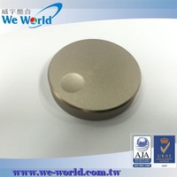 Scratch resistant chamfering edge anodized cnc machining knob