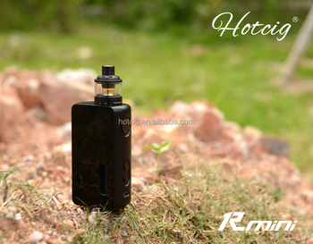 2017 hot sell Rmini AIO mod 65w with replaceable abalone panel hotcig rmini wholesale price