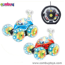 Hot Selling Music Lights Gravity RC Stunt Toy Car 360 Degrees