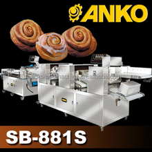 Anko mixing making frozen extrusion cinnamon rolls maker