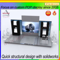 LCD acrylic custom watch display stand ,high-end display stand