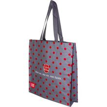 Top Grade Custom Design Glossy Laminated Tote Bag Wholesale Fashion Gift Promotion Bags
